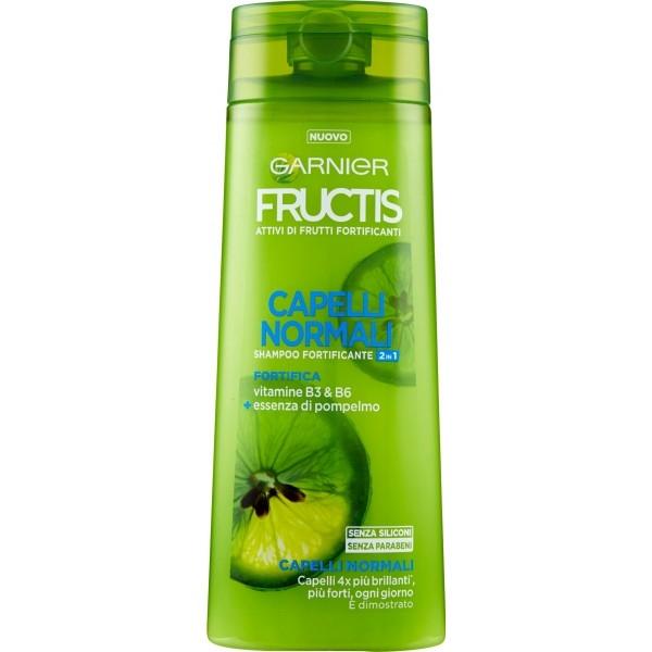Garnier Fructis shampoo 2 in 1 per capelli normali