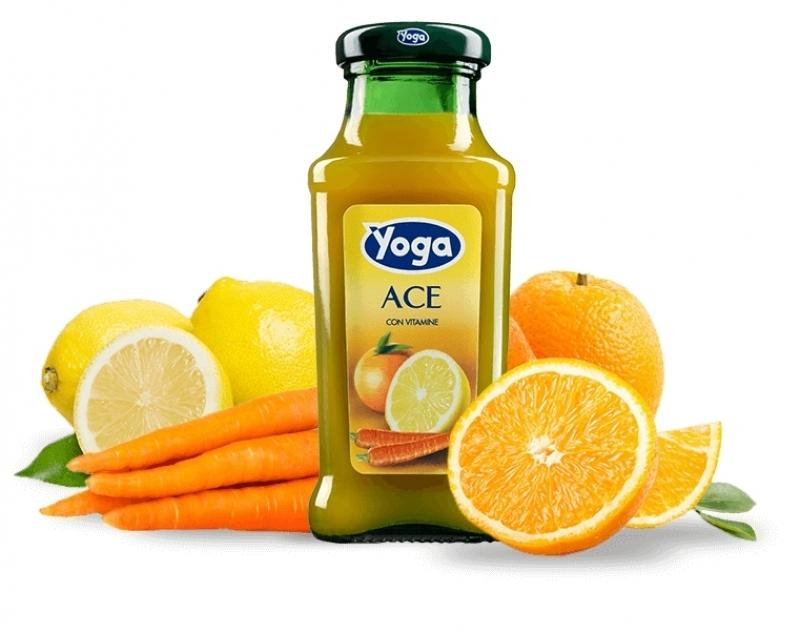 4 bottiglie Succhi Yoga Classic Ace