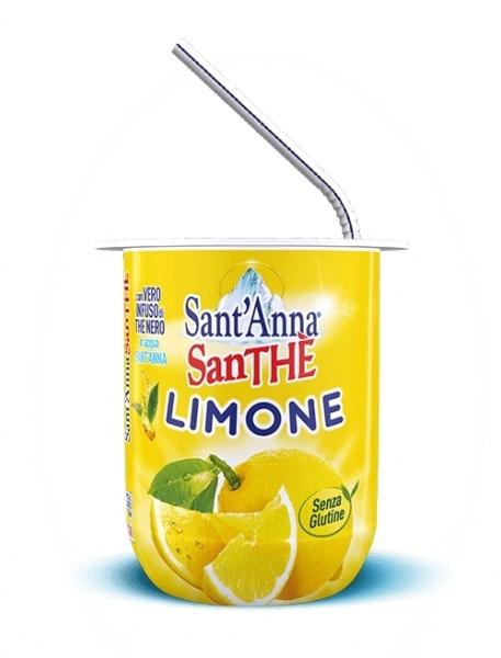 6 bicchieri 200 ml SanThè SantAnna LImone