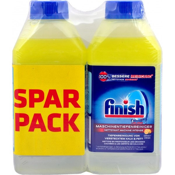 FINISH CURA LAVASTOVIGLIE LIMONE 250 ML X 2