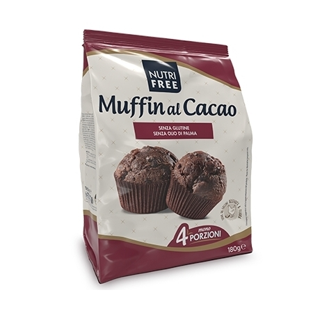 muffin al cacao  nutrifree