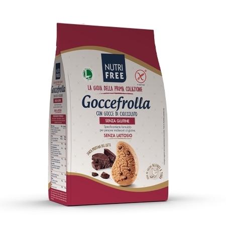 goccefrolla con gocce di cioccolato  nutrifree