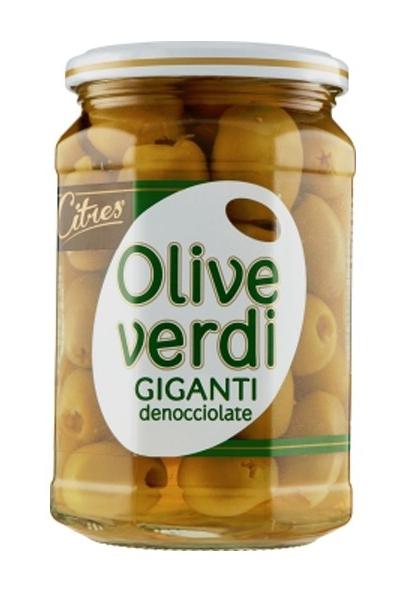 Citris Olive Verdi Giganti Snocciolate gr 540