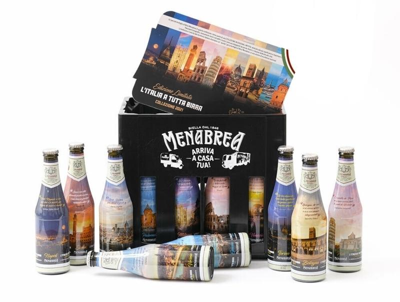 12 bottiglie da 33 cl Menabrea Limited Edition