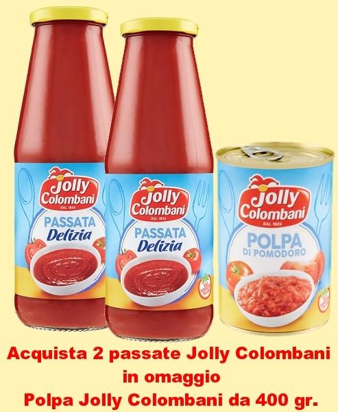 PASSATA JOLLY COLOMBANI  POLPA OMAGGIO