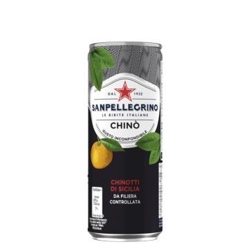 12 lattine 33 cl Chinò Sanpellegrino