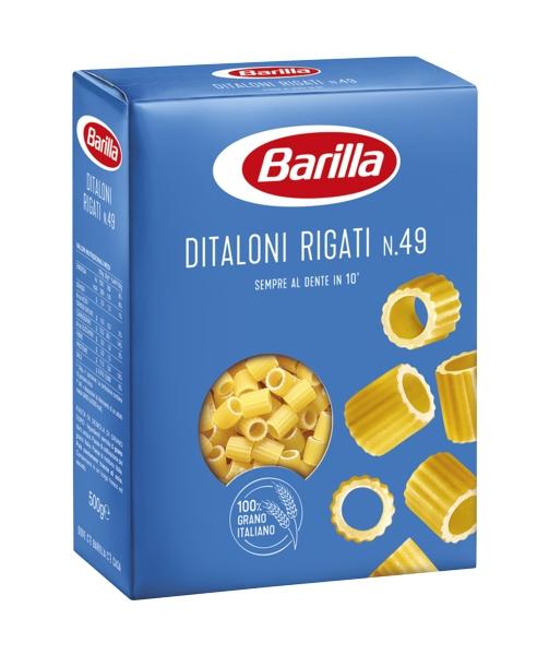 DITALONI RIGATI BARILLA GR 500