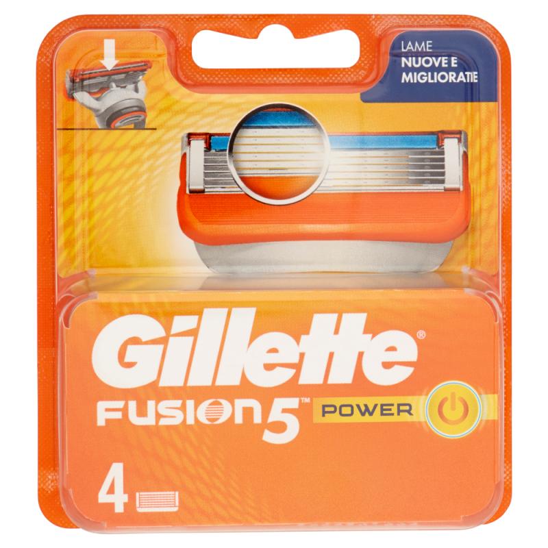 GILLETTE FUSION5 RICARICA POWER 4 PZ