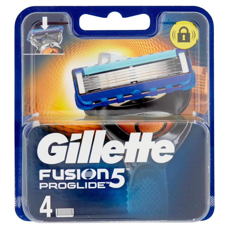 GILLETTE FUSION PROGLIDE RICARICA MANUAL 4 PZ