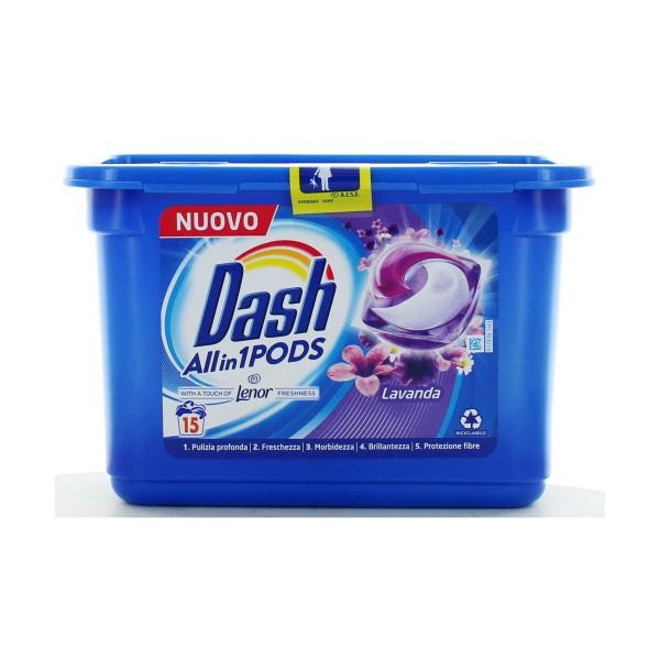 Dash Pods 3in1 15 dosi Lavanda