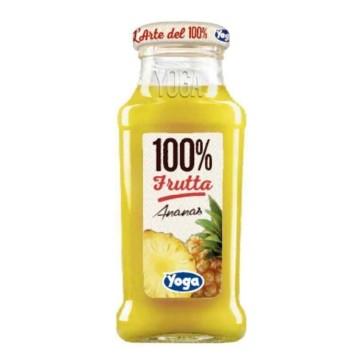 12 bottiglie Yoga 100 Frutta Senza zuccheri aggi