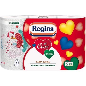 Carta Cucina Cuori di Regina