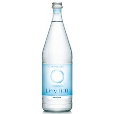 6 bottiglie Acqua  Levico Litro Vetro