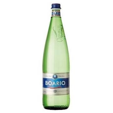 6 bottiglie Acqua Boario Litro Vetro