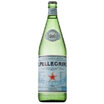 6 bottiglie Acqua Sanpellegrino Litro Vetro