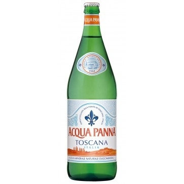 6 bottiglie Acqua Panna Litro Vetro