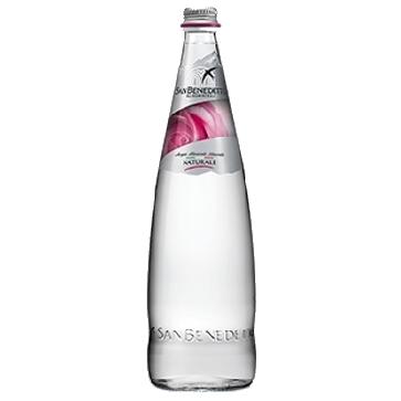 6 bottiglie Acqua San Benedetto Litro Vetro