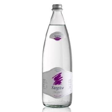 6 bottiglie Acqua Surgiva Litro Vetro