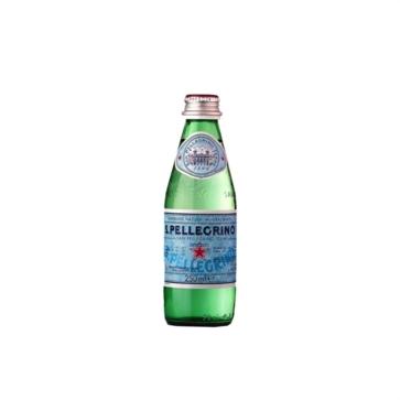 24 bottiglie Acqua Sanpellegrino 025 L Vetro