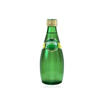 24 bottiglie Acqua Perrier 033 L Vetro