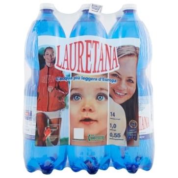 6 bottiglie Acqua Lauretana 15 L Pet