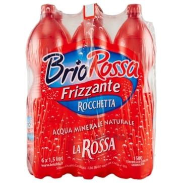 6 bottiglie Acqua Rocchetta Brio Blu La Rossa 15