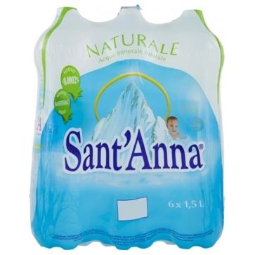 6 bottiglie Acqua SantAnna 15 L Pet