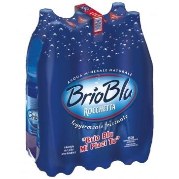 6 bottiglie Acqua Rocchetta Brio Blu 15 L Pet
