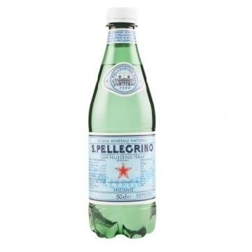 24 bottiglie Acqua Sanpellegrino 05 L Pet