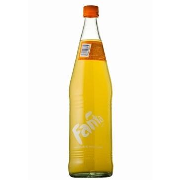 6 bottiglie 1 litro vetro Fanta