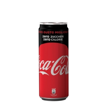 12 Lattine 33 cl Coca Cola Zero