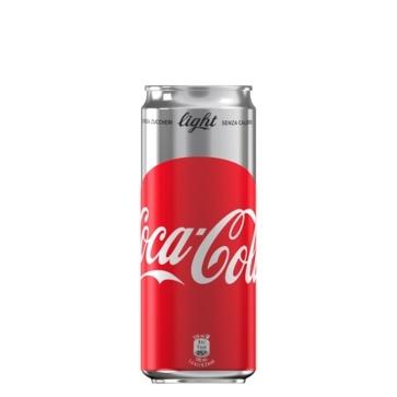 12 lattine 33 cl Coca Cola Light