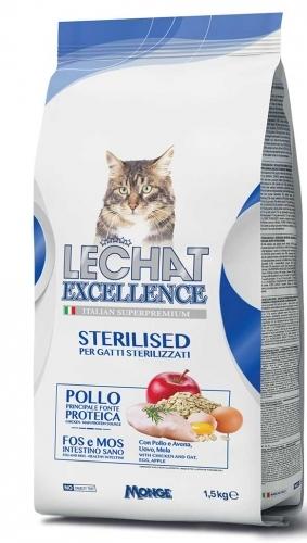 Lechat Excellence 15 Kg Sterilised Pollo