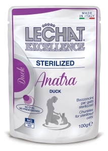 Lechat Excellence sterilized 100 gr bocconcini an