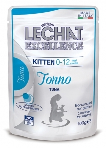 Lechat Excellence kitten 100 gr bocconcini tonno
