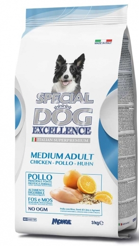 Special dog excellence medium adult pollo
