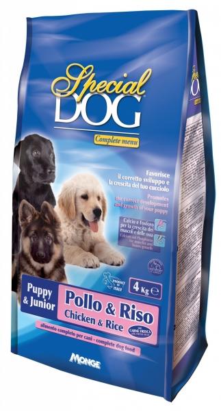 Special dog puppy  junior pollo e riso