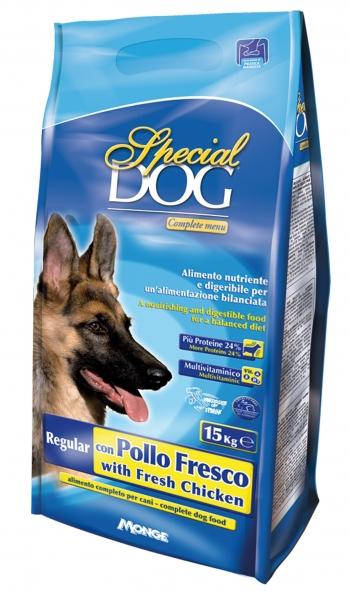 Special dog premium regular pollo fresco