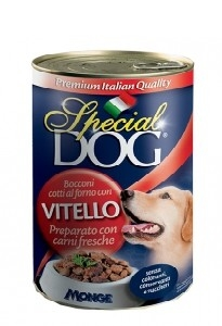 Special dog bocconi vitello