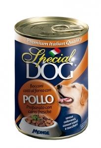 Special dog bocconi pollo