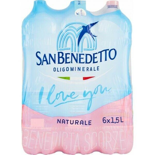 6 bottiglie Acqua San Benedetto 15 L Pet