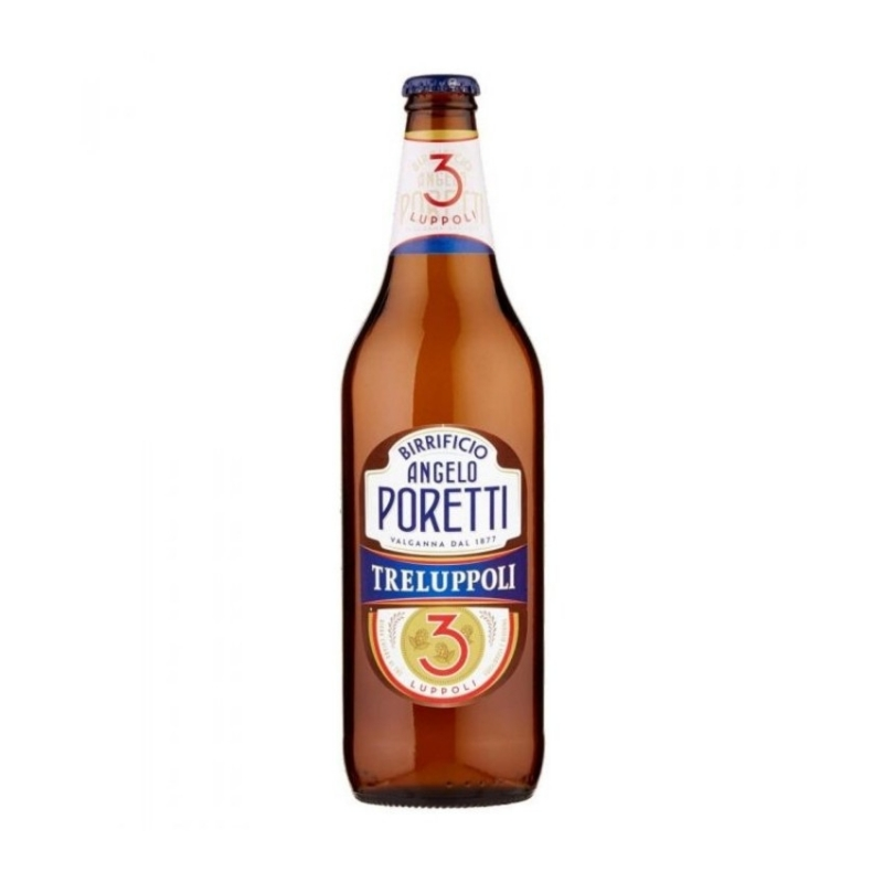 6 bottiglie da 66 cl di 3 luppoli Angelo Poretti