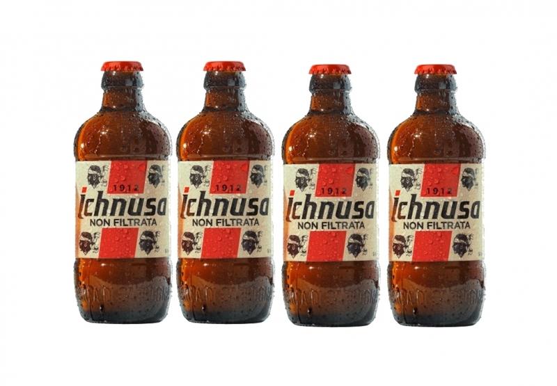 4 bottiglie Ichnusa Sarda non filtrata
