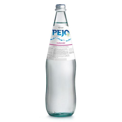 6 bottiglie acqua pejo litro vetro