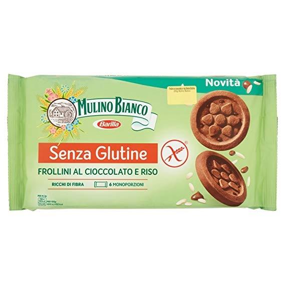 FROLLINI AL CIOCCOLATO E RISO GLUTEN FREE MULINO B